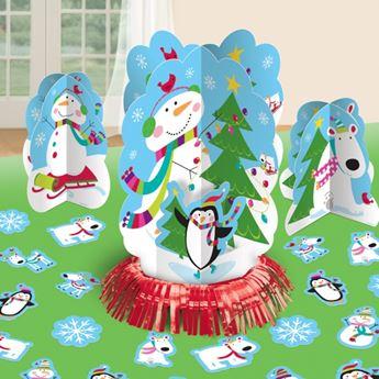 Imagens de Centros de mesa muñeco de nieve (3)