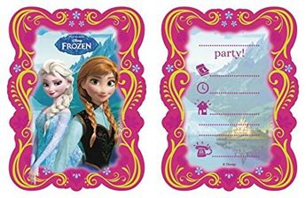 Picture of Invitaciones Frozen (6)