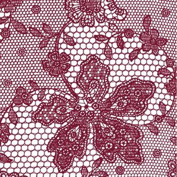 Imagen de Servilletas bordado rojo (20)
