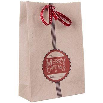 Imagen de Bolsa feliz Navidad