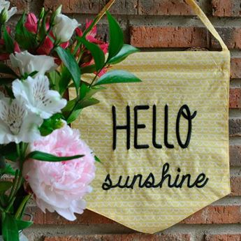 Picture of Banderín Hello Sunshine