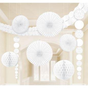 Imagen de Set Decoración Colgante blanco (9)