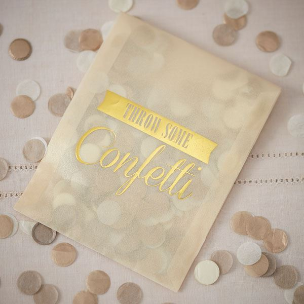 Picture of Bolsas confeti oro (10)