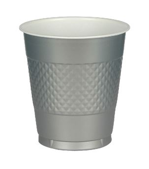 Picture of Vasos plata plástico (10)