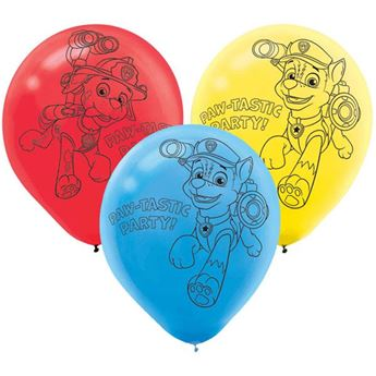 Picture of Globos Patrulla Canina (6)
