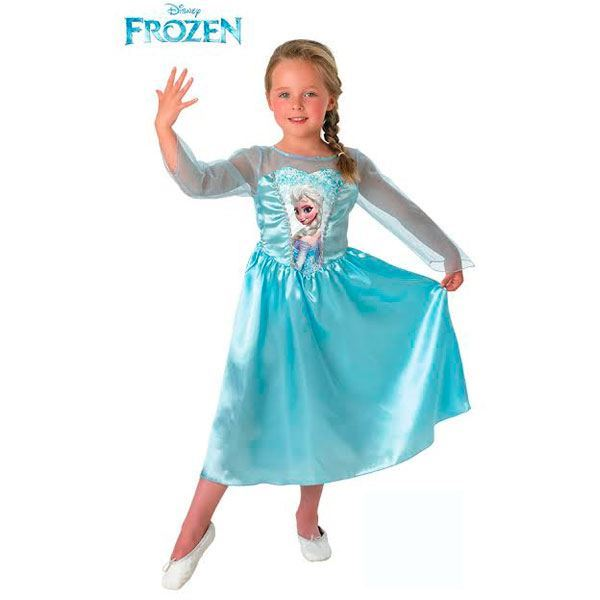 Imagens de Disfraz Elsa Frozen 7-8 años