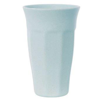 Imagens de Vaso melamina bambú azul (1)