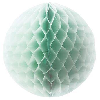 Imagen de Bola nido de abeja menta 45cm