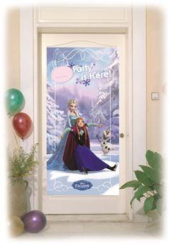 Imagen de Decorado puerta Frozen