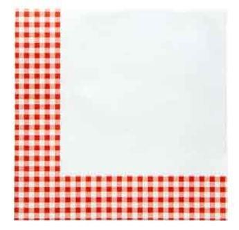 Imagen de Servilletas picnic rojo (20)