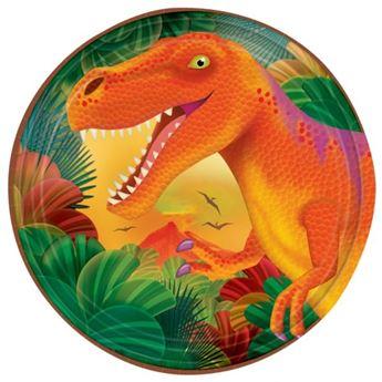 Imagen de Platos Dinosaurios pequeños (8)