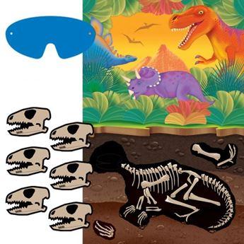 Imagen de Juego de pared dinosaurio