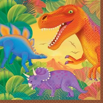 Imagen de Servilletas Dinosaurios grandes (16)