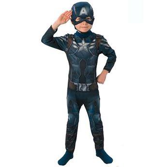 Imagens de Disfraz Capitán América 7-8 años