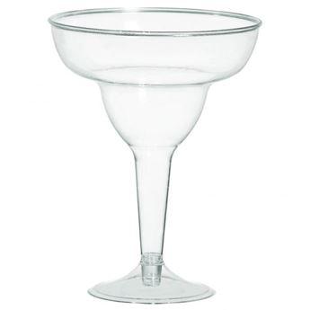Imagen de Set copas de margarita transparentes (20)