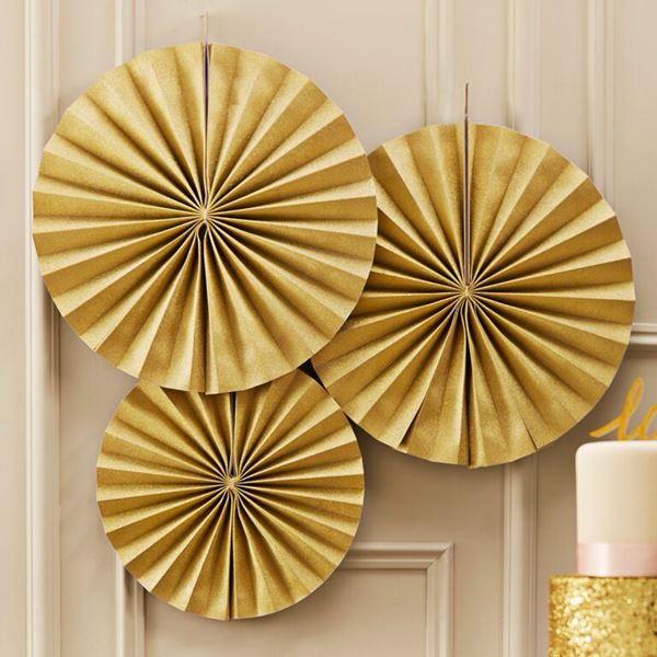 Imagen de Decorados abanicos oro (3)