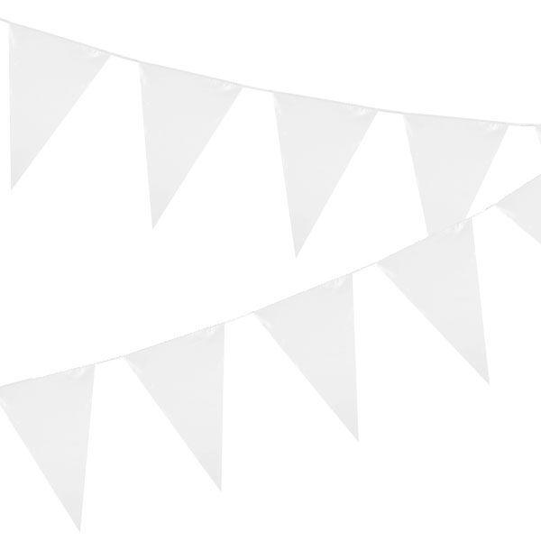 Imagens de Banderín blanco grande 10mts