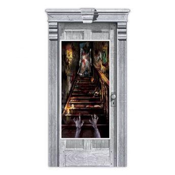 Imagen de Decorado puerta casa encantada