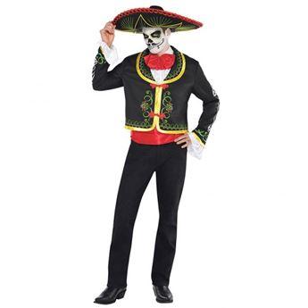 Imagen de Disfraz mariachi Día de los Muertos Talla XL