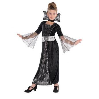 Imagens de Disfraz vampira gótica. Talla 4 a 6 años