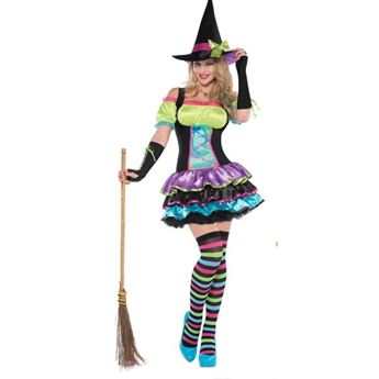 Imagens de Disfraz bruja pop. Talla S