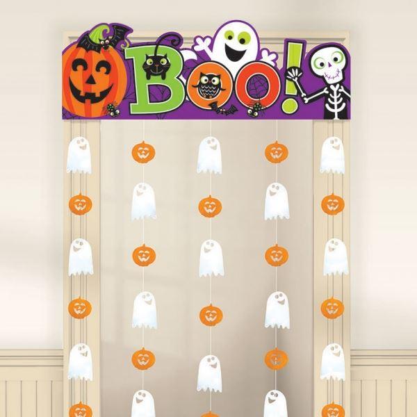 Compra cortina halloween infantil y rec belo en 24h fiestafacil tienda online de art culos - Decoracion halloween infantil ...