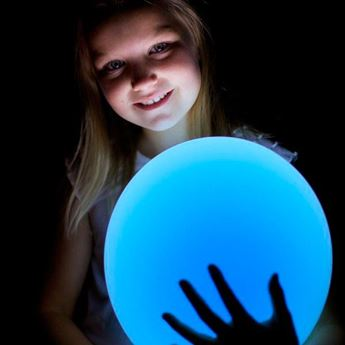 Picture of Globos azules con luz (5)