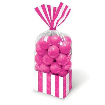 Imagens de Bolsas celofán rayas rosa (10)