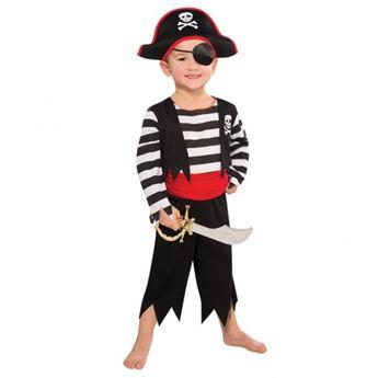 Imagens de Disfraz pirata calavera (3 a 4 años)