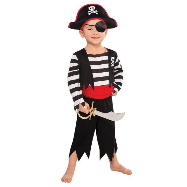 Imagen de Disfraz pirata calavera (4 a 6 años)