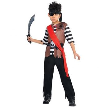 Imagens de Disfraz pirata capitán (4 a 6 años)