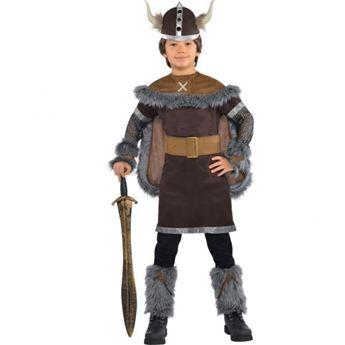Imagens de Disfraz vikingo lujo (4 a 6 años)