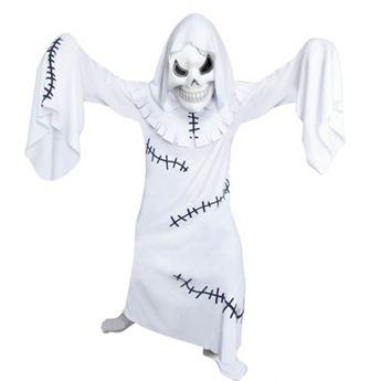 Imagens de Disfraz fantasma con máscara. Talla 6 a 8 años