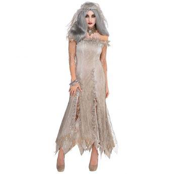 Imagens de Disfraz novia zombie. Talla M/L