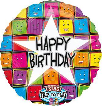 Imagen de Globo musical cumpleaños feliz