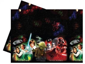 Imagen de Mantel Star Wars héroes y villanos