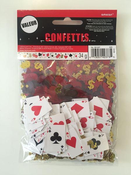 Imagen de Confeti Casino las vegas (34g)