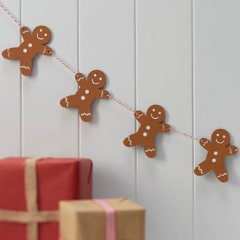 Imagen de Banderín galletas jengibre Navidad