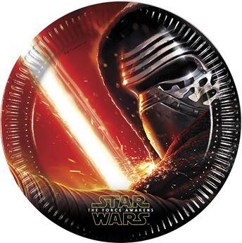 Imagen de Platos Star Wars Despertar de la Fuerza grandes(8)