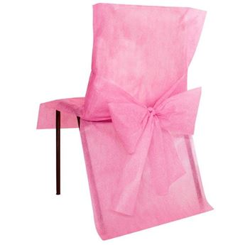 Picture of Fundas de silla rosa (4)