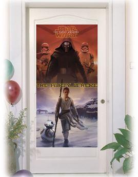 Imagen de Decorado puerta Star Wars Despertar de la Fuerza