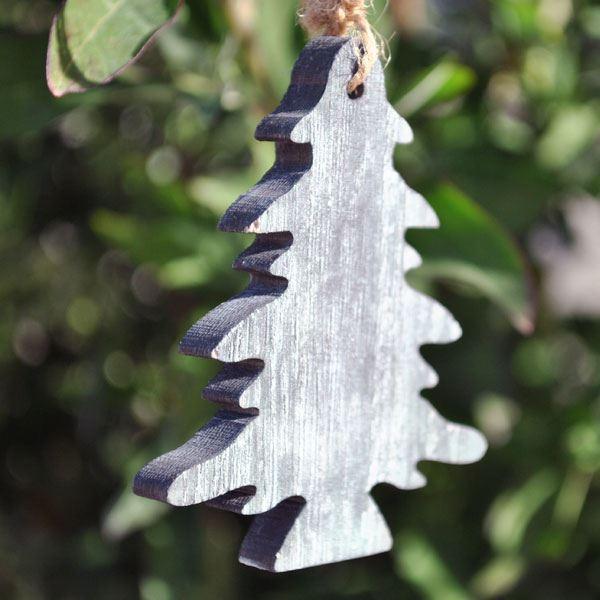Imagen de Adorno árbol Navidad madera