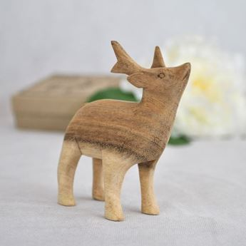 Imagen de Figura alce madera