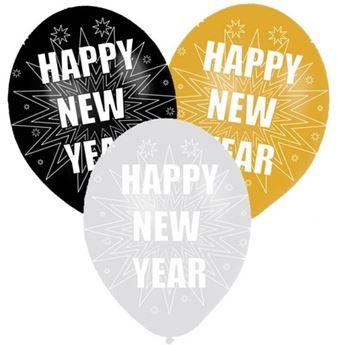 Imagen de Globos feliz año nuevo (6)