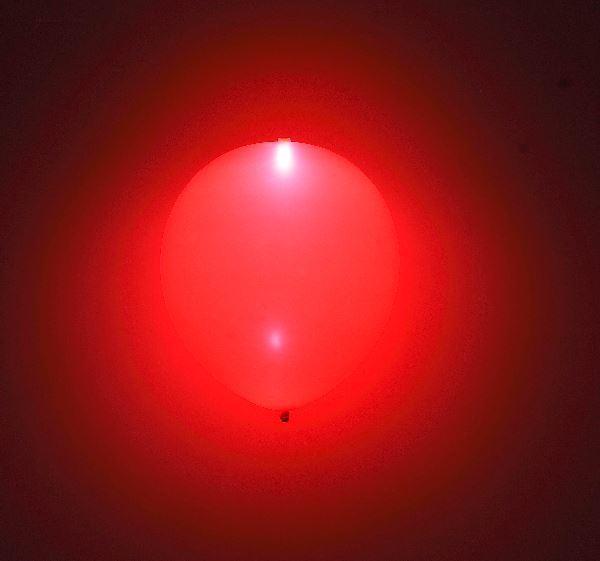 Imagen de Globos rojos con luz (5)