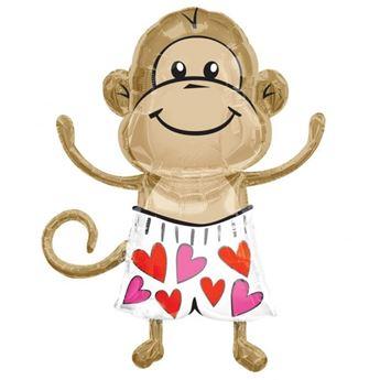 Imagen de Globo mono amoroso
