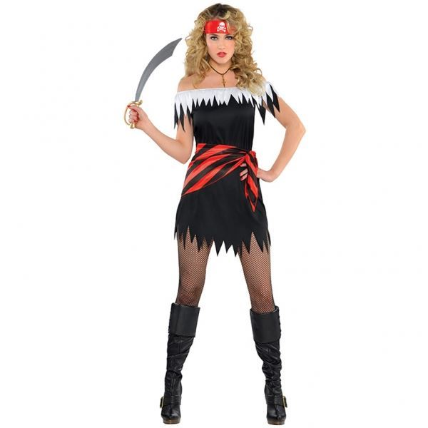 Imagen de Disfraz pirata chica. Talla M-L