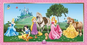 Imagen de Decorado pared princesas Disney