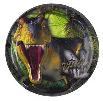 Imagen de Platos dinosaurio jurásico pequeños (8)