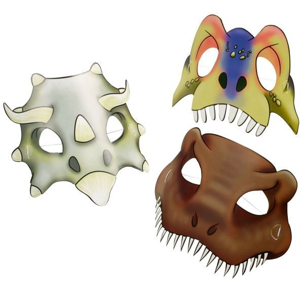 Imagens de Máscaras dinosaurio (8)